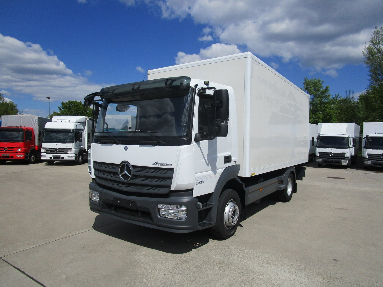 ATEGO IV 1223 L Koffer 5,20 m LBW 1,25 to.